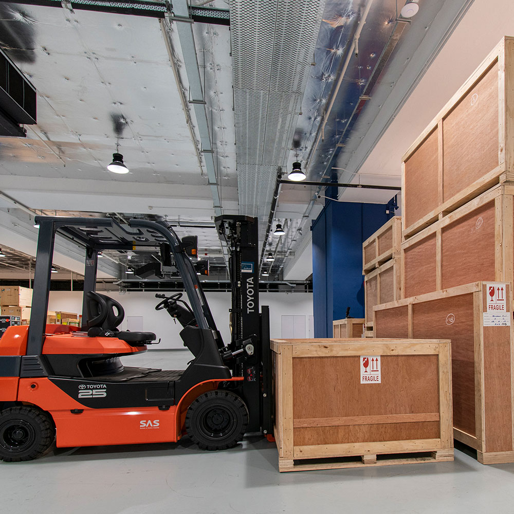 Lotus Fine Arts warehouse
